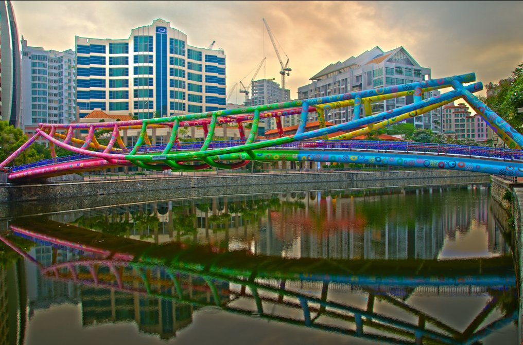 Photo Art bridge